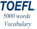 Thumbnail TOEFL Audio Vocabulary in Use: English - Spanish. 5000 words
