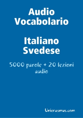 Product picture Audio Vocabolario Italiano- Svedese