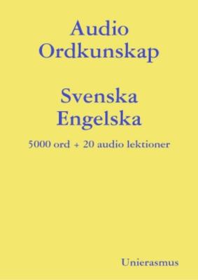 Product picture Audio Ordkunskap. Svenska - Engelska