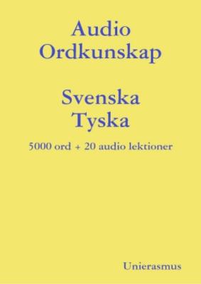 Product picture Audio Ordkunskap. Svenska - Tyska