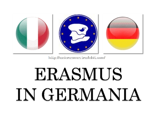 Product picture Erasmus in Germania. Mp3 + pdf